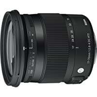 Sigma 4884954 17-70mm f/2.8-4 DC Macro HSM Contemporary Optical Lens for Canon, Black