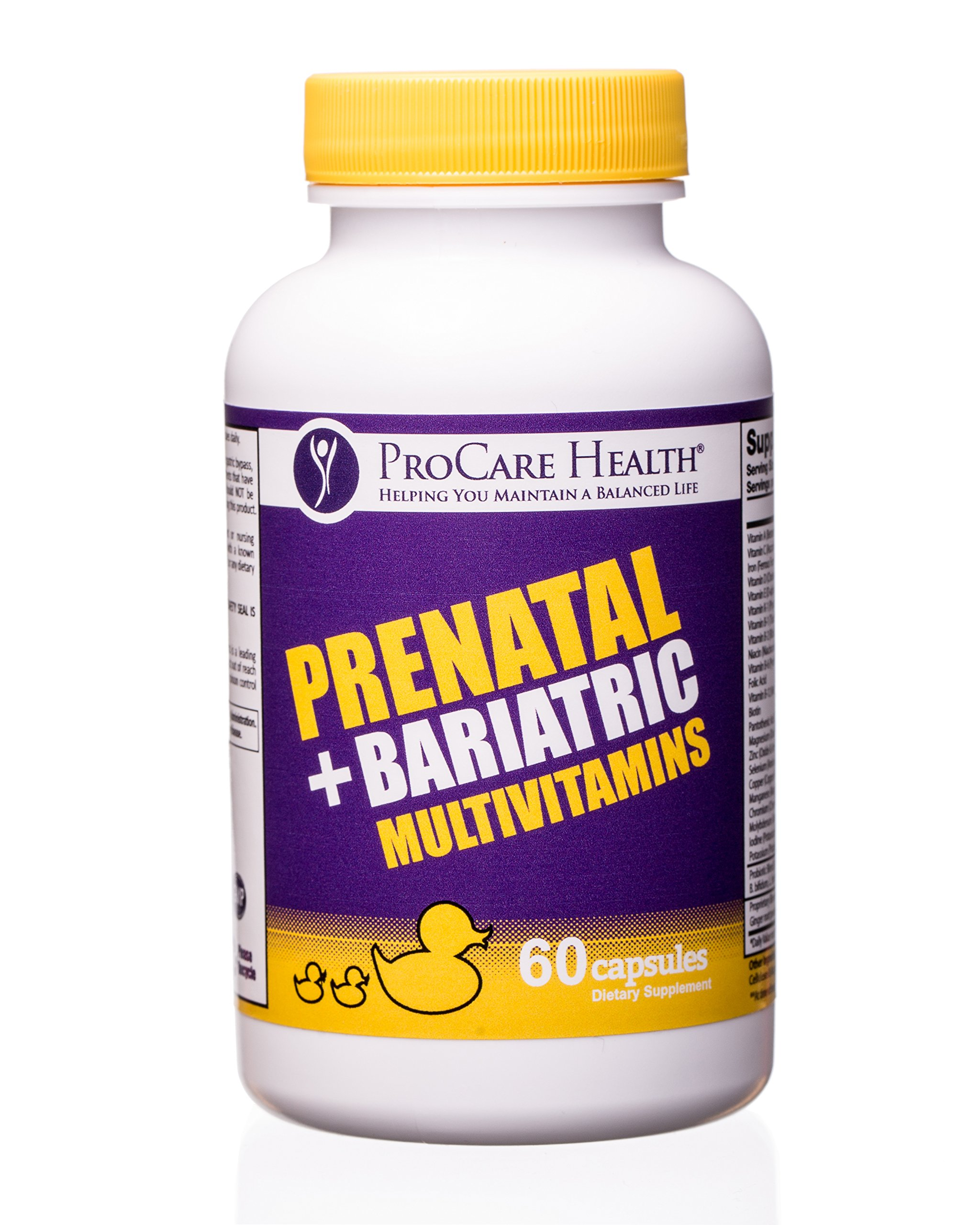 ProCare Health Prenatal + Bariatric Multivitamin 60ct-1 Month Supply