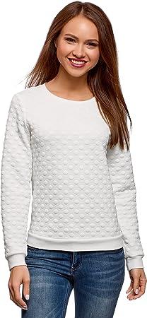 Modelo: Talla S. Medidas: 85/65/90. Altura/peso: 175cm/52kg,Elegante suéter texturizado ideal para c