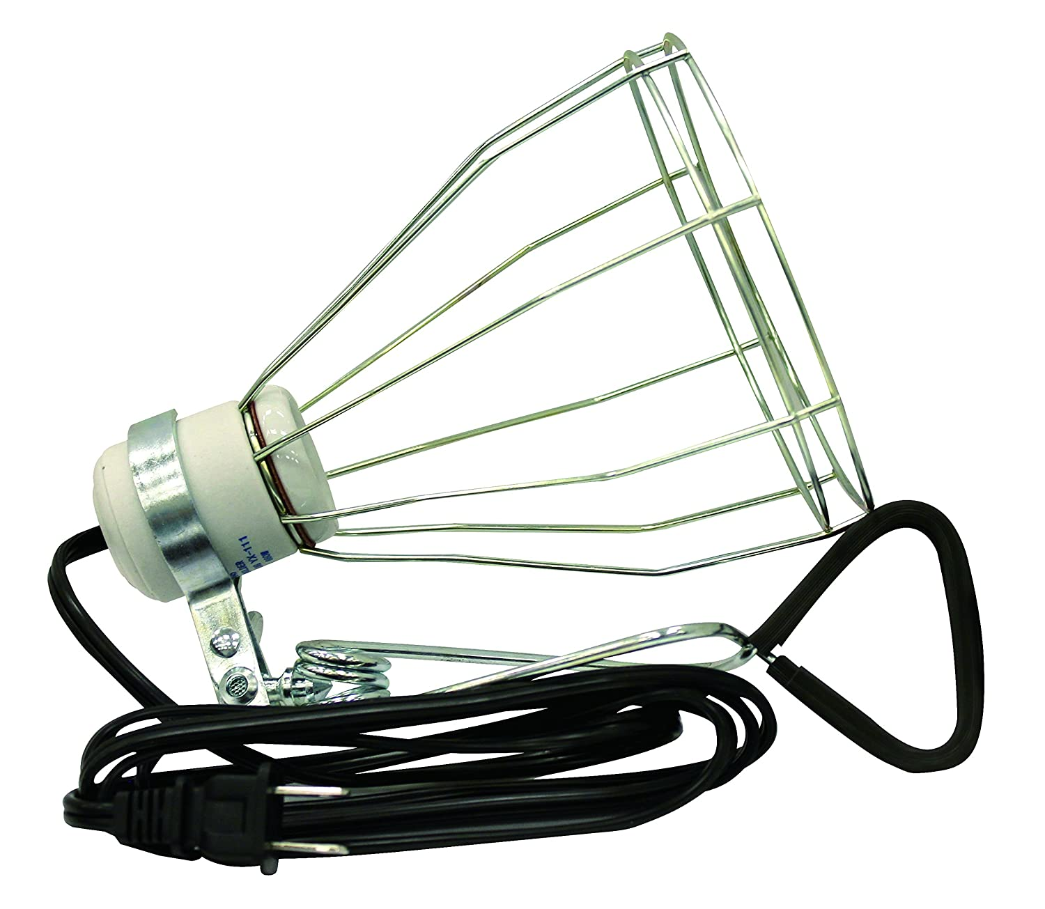 Woods 0165 Brooder Lamp with Bulb Guard,10.5 Inch Reflector and 6 Foot Cord 250 Watt, 18//2 SJTW