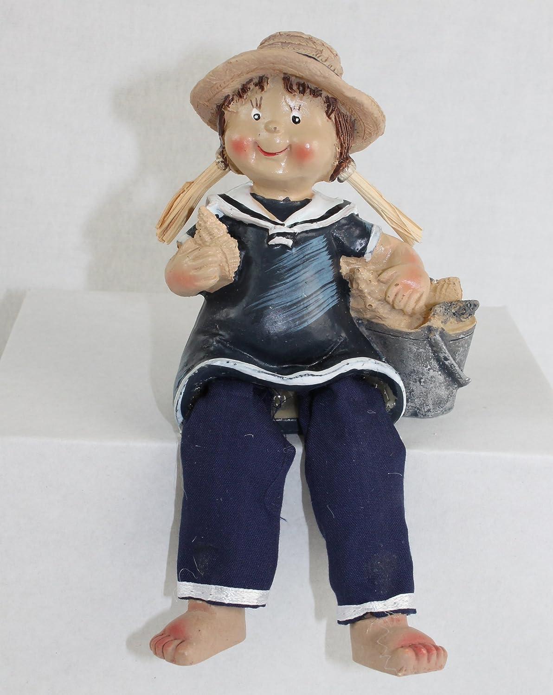 Antyki i Sztuka Kantenhocker Junge Matrose ca 16cm Sitzhöhe 10cm