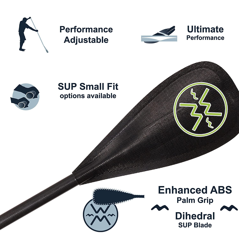 Werner Rip Stick 89 Adjustable Carbon Stand-Up Paddle