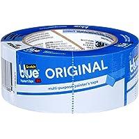 ScotchBlue Masking Tape. Original Blue masking tape. Multi-Surface. 1 Roll. Blue tape. Blue Scotch tape for painting and decorating. Multiple sizes.