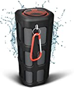TREBLAB FX100 - Extreme Bluetooth Speaker - Loud, Rugged for Outdoors,