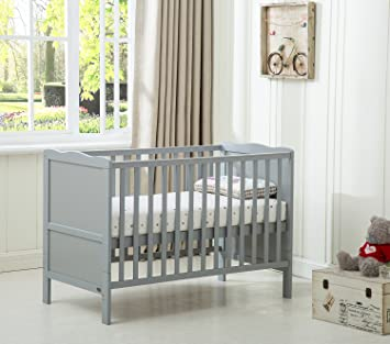 mcc grey wooden baby cot bed orlando toddler bed premier water