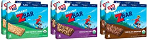 Zbar Clif Kid Organic Energy Bar Variety Pack,1.27 Ounce (Pack of 36)