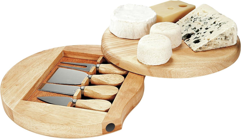Domoclip MEN28 - Bandeja para quesos con Utensilios