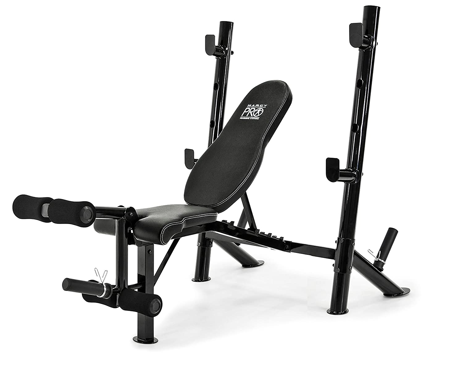Marcy Multi-Position Mid-Size Exercise Weight Bench for Home Gym Equipment PM-767