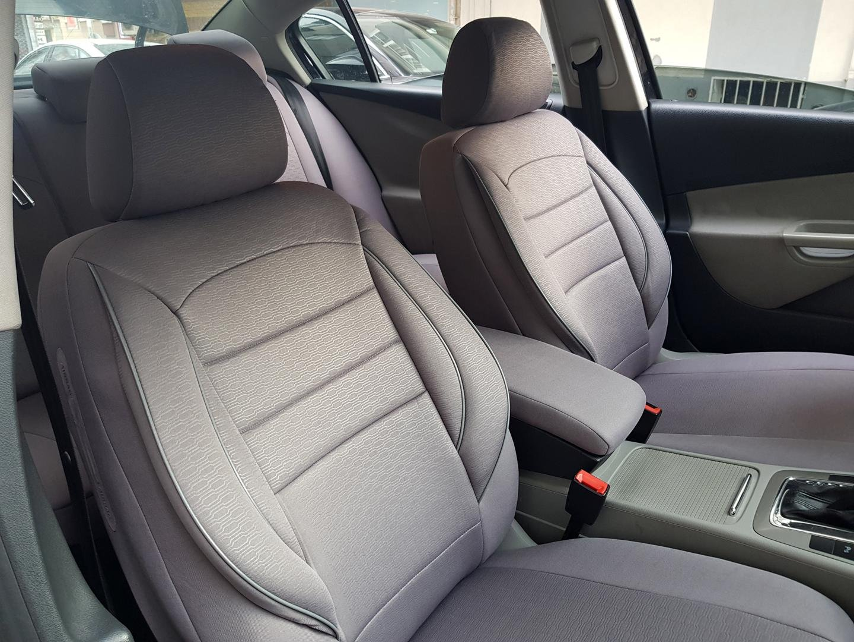 Autozubeh/ör Innenraum Autositzbez/üge Set Vordersitze Sitzbez/üge k-maniac Kfz Tuning Sitzbezug Sitzschoner Universal grau V830447 Auto Zubeh/ör f/ür Frauen und M/änner