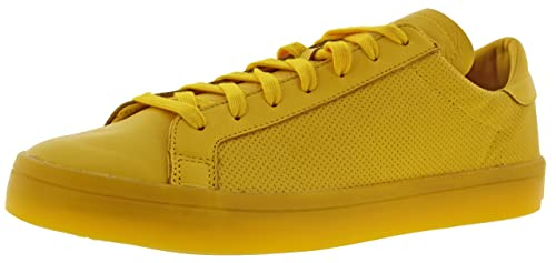 low priced d6ae9 739c5 adidas Mens Courtvantage Yellow 9
