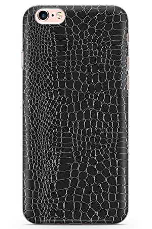 on sale 513b4 7c861 Case Warehouse iPhone 6 Case, iPhone 6s Black Snakeskin Phone Case Clear  Ultra Thin Lightweight Gel Silicon TPU Protective Cover | Animal Print ...