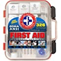 Be Smart Get Prepared 326Pc. First Aid Kit