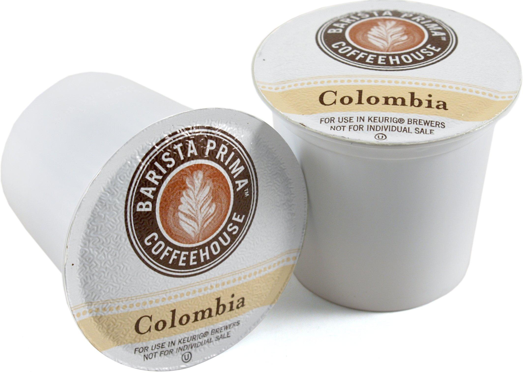 Barista Prima Colombian Coffee Keurig K-Cups, 72 Count