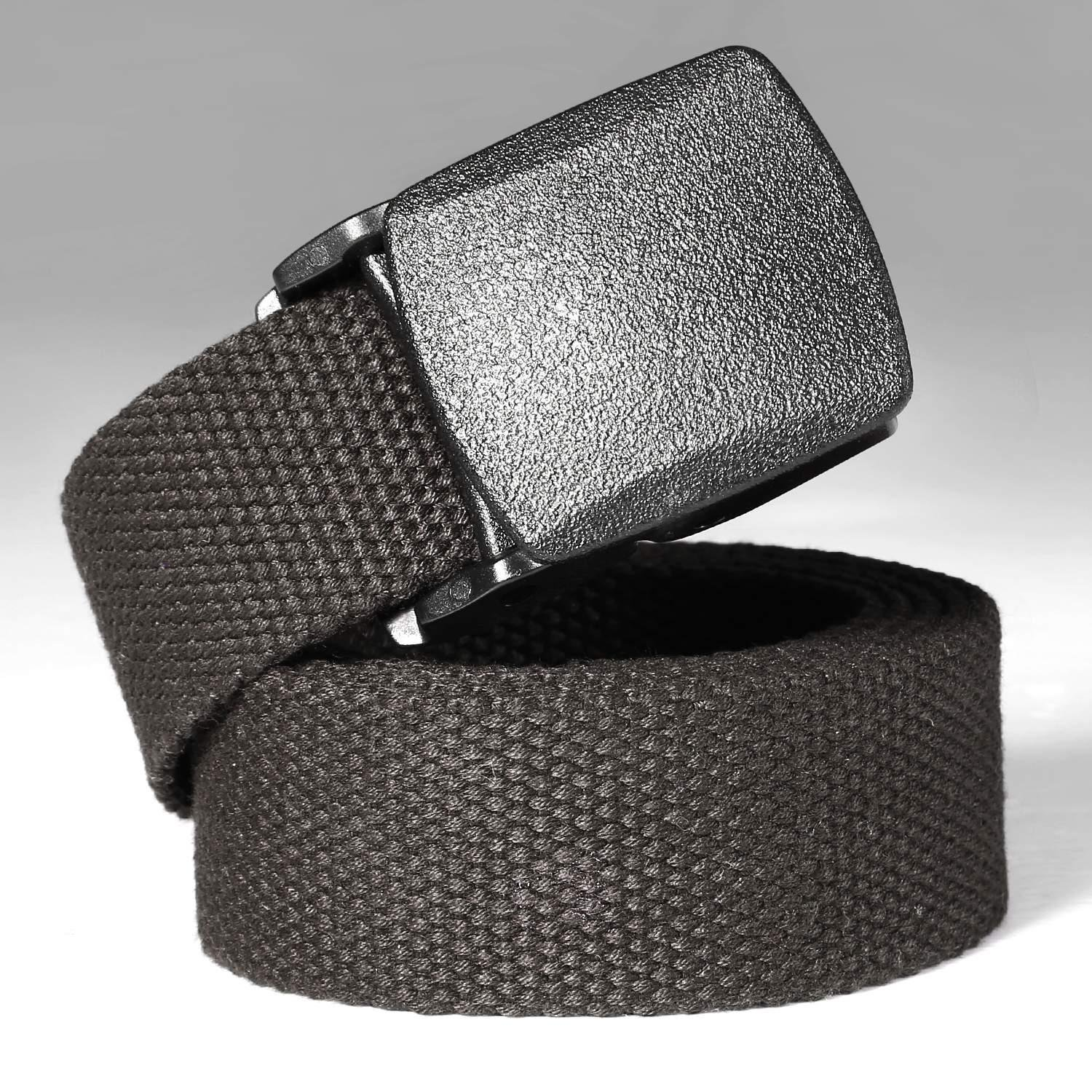 Nylon Canvas Breathable Utility Military Tactical Men Waist Belt With Plastic Buckle Tactical Belt for Men