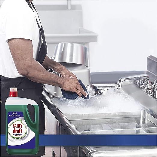 Fairy Profesional Lavavajillas Líquido Fast Clean - 10L (Pack 2 x 5L): Amazon.es: Salud y cuidado personal