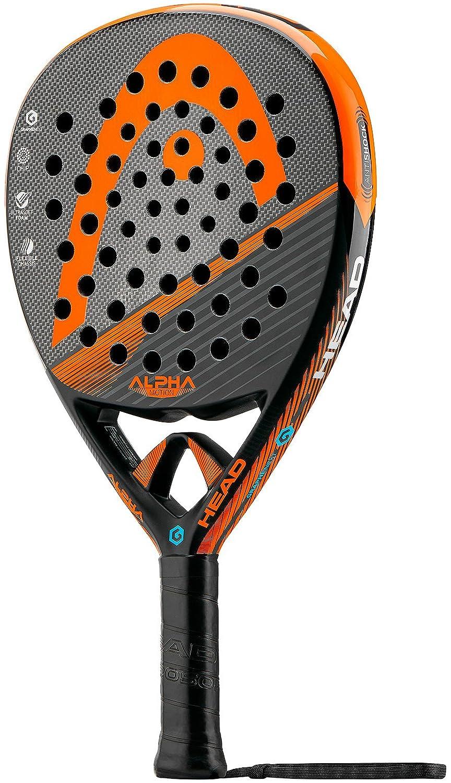 Head Alpha Motion - Pala de pádel, Color Negro/Naranja, Talla 38 mm: Amazon.es: Deportes y aire libre