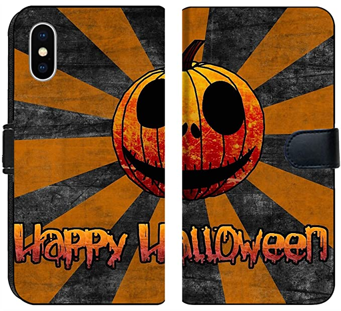 Amazon Com Apple Iphone X Flip Fabric Wallet Case Image Of