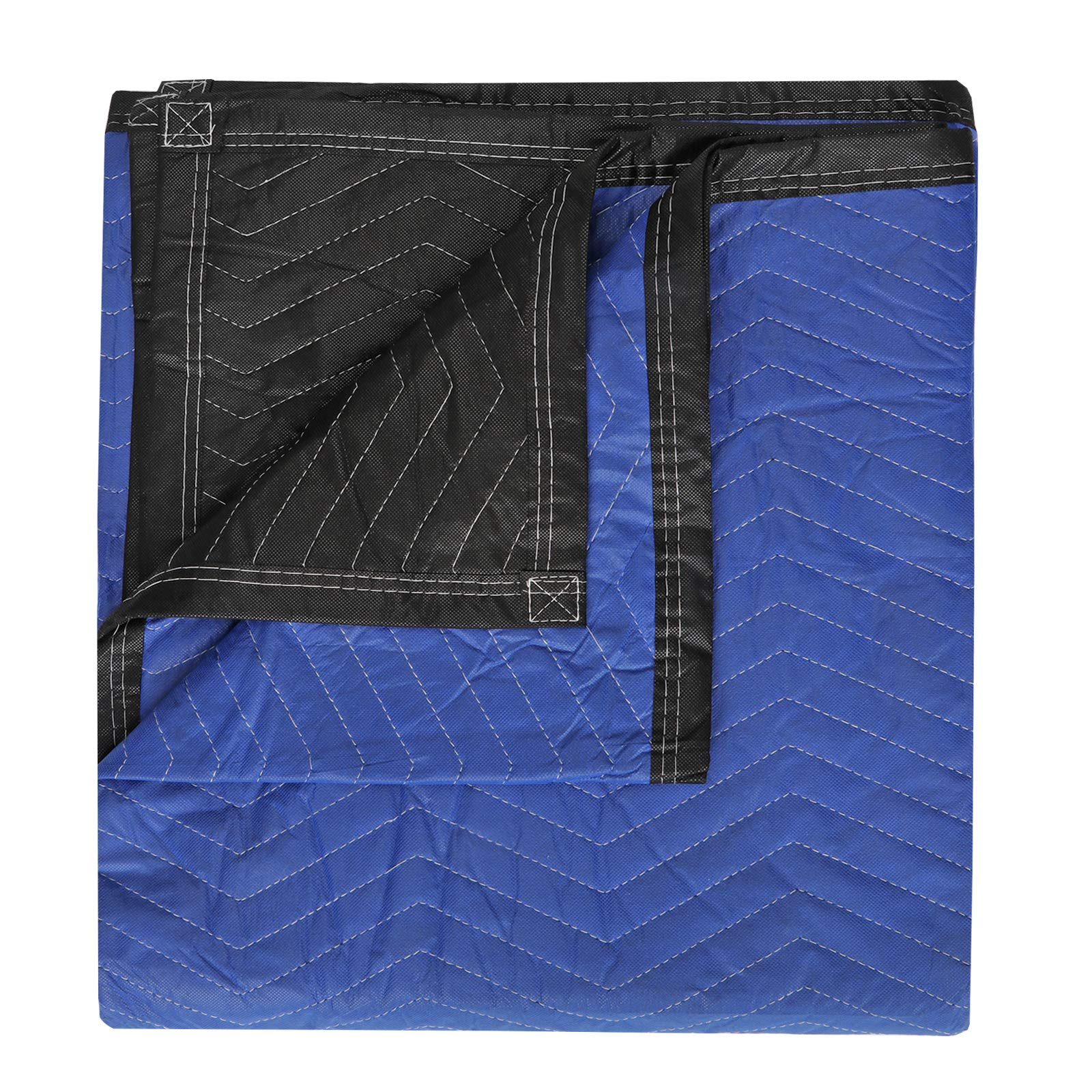 HomGarden 12 Moving & Packing Blankets - 80'' x 72'' Professional Quilted Shipping Furniture Pads Multi Purpose Blankets by HomGarden (Image #5)