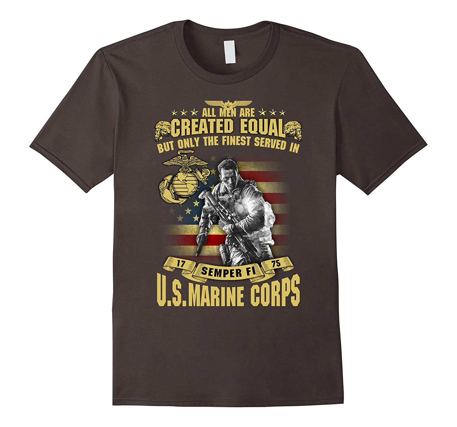 Vintage USMC T-Shirt Only The Finest Served In Marine Corps