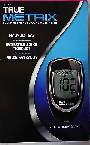True Decor TrueMetrix Self Monitoring Blood Glucose Meter (Triple Sense Technology)