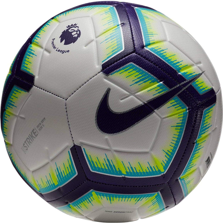 Nike Premier League Strike Football WHITE/PURPLE 18/19: Amazon.es ...