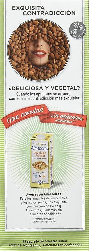 Leche De Almendras Sin Azúcares Almendrola 1L: Amazon.es: Alimentación y bebidas