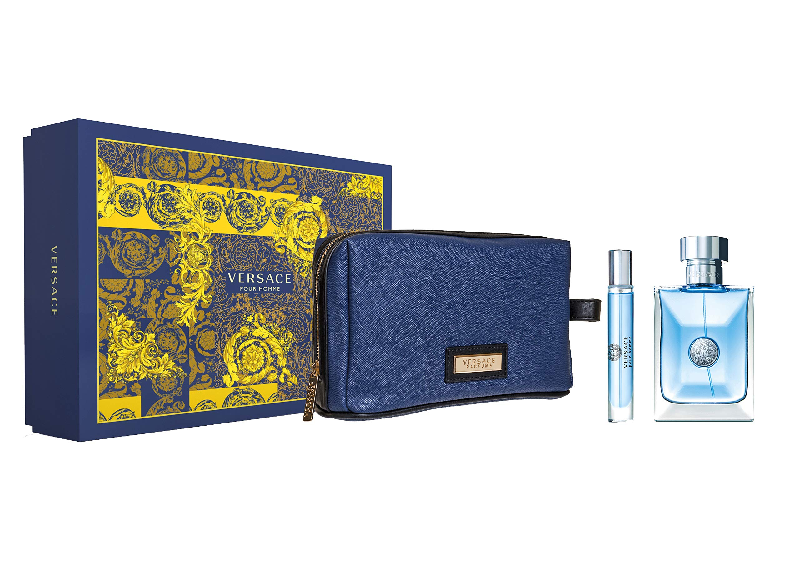Versace Pour Homme Gift Set, 3 Count by Versace