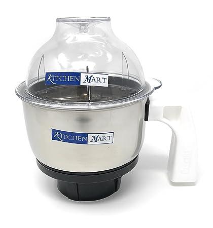 Kitchen Mart Chutney Jar 500ml suitable for Preethi Mixer Grinder / Preethi Steele Suprem Mixer Grinder / Preethi Steele Max Mixer Grinder Mixer Grinders at amazon