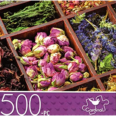 Dried Tea - 500 Piece Jigsaw Puzzle: Toys & Games