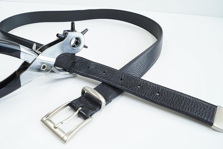 CON:P B20622 Set sacabocados y remachadora con 100 ribetes de 5 mm ...