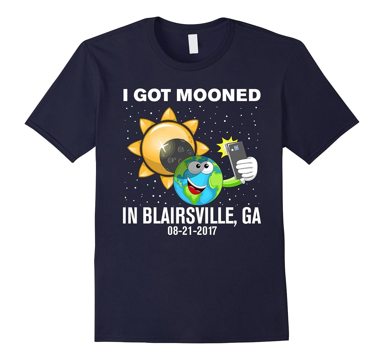 Got Mooned in Blairsville,GA - Solar Eclipse T-Shirt-Art