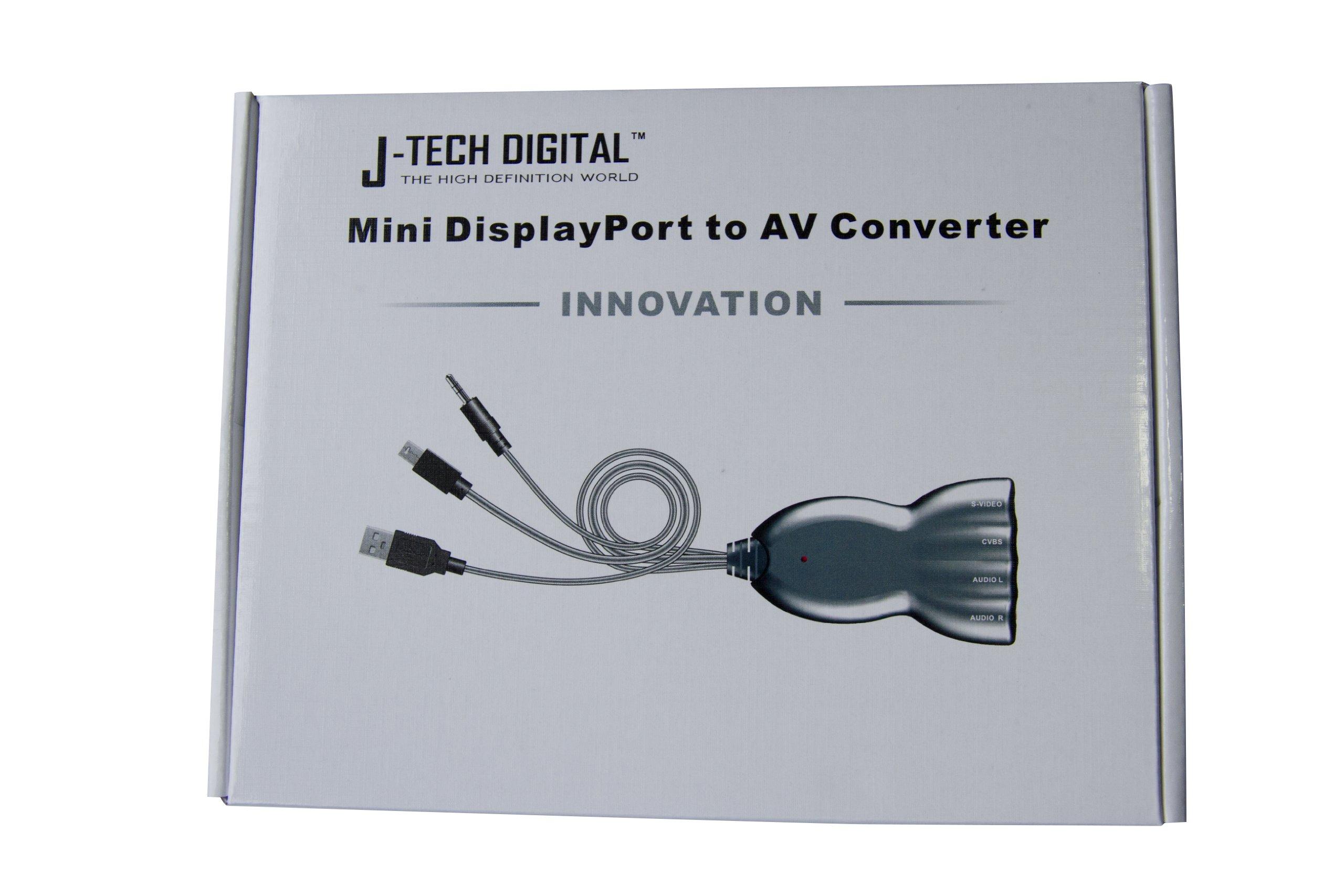J-Tech Digital Mini DisplayPort to AV Converter