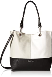 0d0f990aa Amazon.com: Calvin Klein Sonoma Reversible Novelty North/South Tote ...