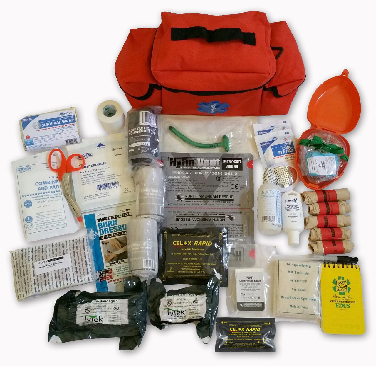 RESCUE ESSENTIALS OUTDOOR RANGE MEDICAL KIT - ADVANCED