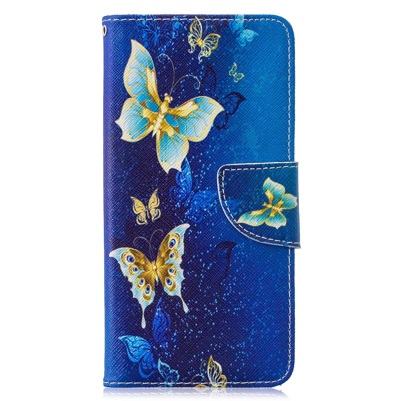 Gemalt Halter Handyh/üllen Kompatibel mit Samsung Galaxy S10 H/ülle-Ber/ühren Sie Nicht Mein Handy, Grinsen Sie WIWJ Schutzh/ülle f/ür Samsung Galaxy S10 Handyh/ülle Lederh/ülle Flip Wallet Cover