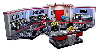 Amazon Com Mega Bloks Star Trek U S S Enterprise Bridge Collector