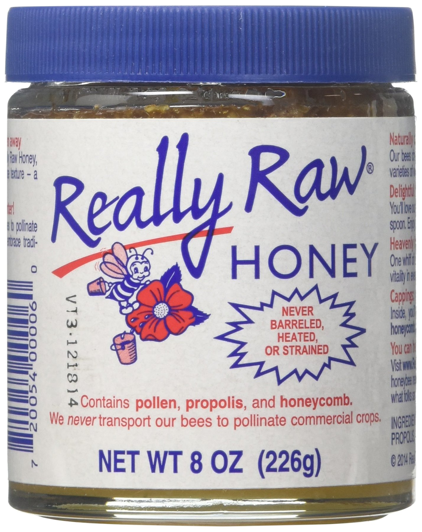 REALLY RAW Raw Honey - 8 oz