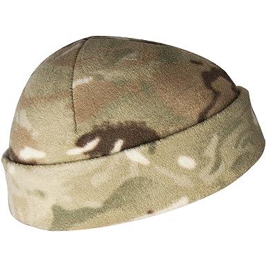 c91c182c29a Helikon Watch Cap US Army Docker Hat Warm Fleece Beanie Tactical Forces MTP  Camo  Amazon.co.uk  Clothing
