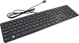 I-Rocks Black Aluminum X-Slim Keyboard for PC (KR-6402-BK)