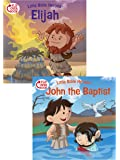Elijah/John the Baptist Flip-Over Book (Little Bible Heroes™)