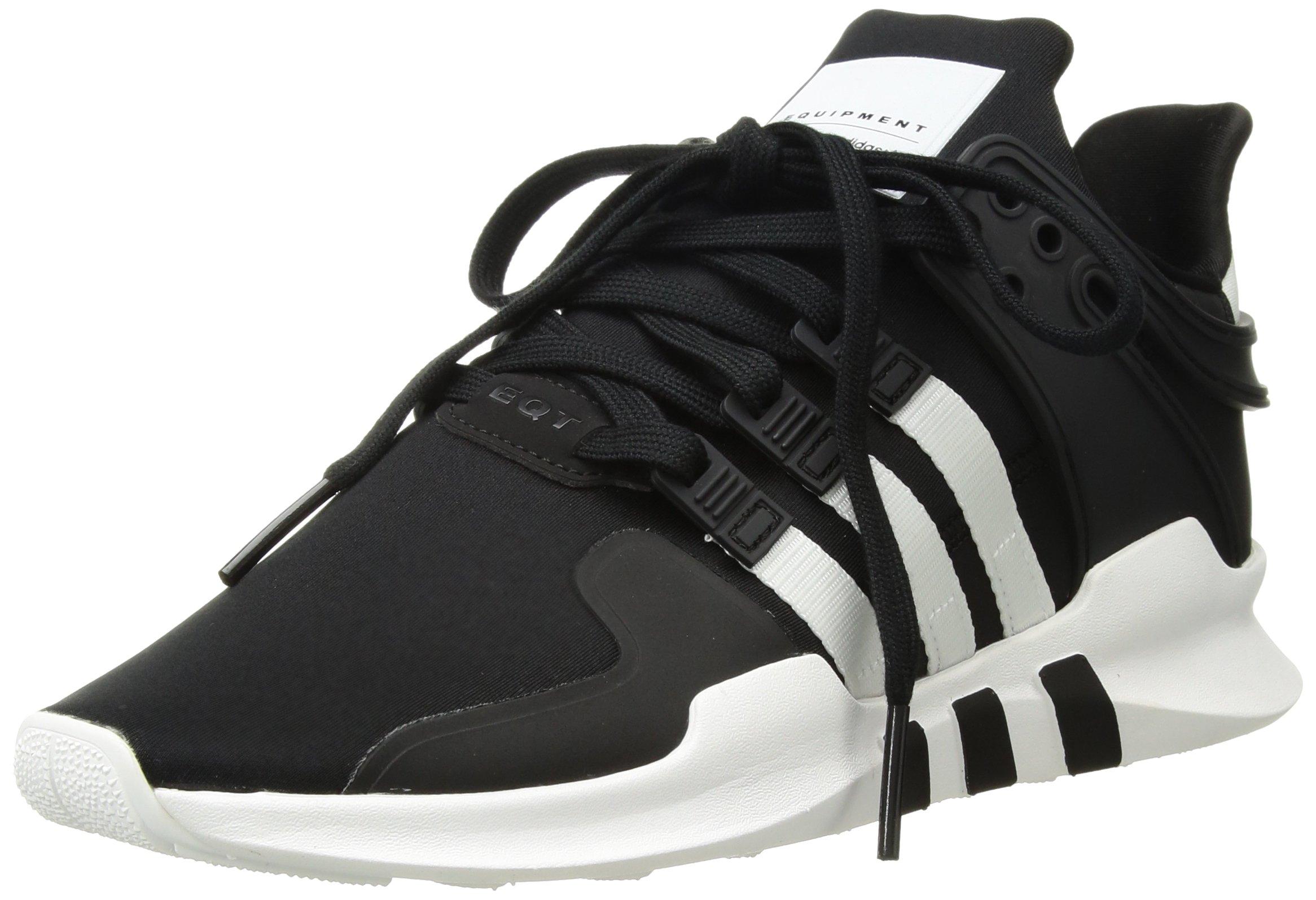 best service cf296 e82e5 Galleon - Adidas Mens Eqt Support Adv Fashion Sneaker,blackwhiteblack,5  M US