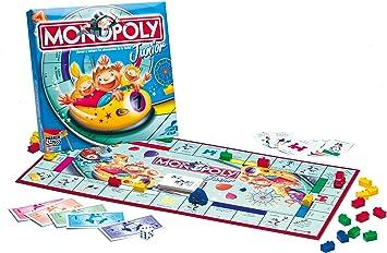 Hasbro M.B. Juegos Monopoly Junior: Amazon.es: Juguetes y juegos