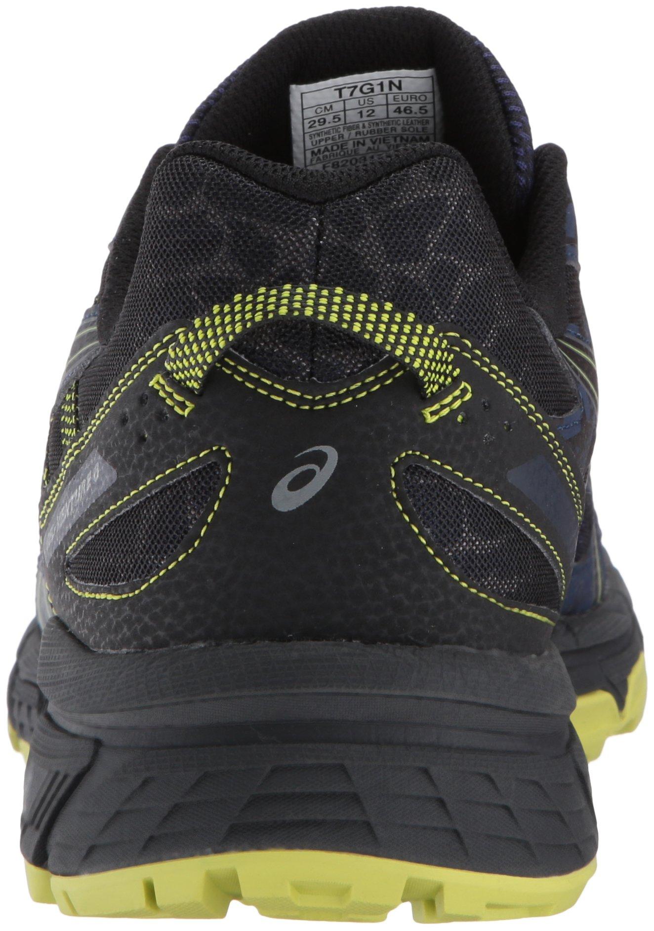 ASICS Mens Gel-Venture 6 Running Shoe, Indigo Blue/Black/Energy Green, 7 Medium US by ASICS (Image #2)