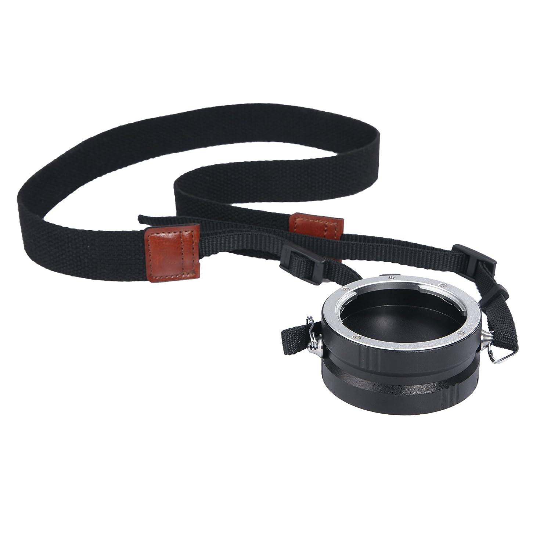 Movo Rapid Multi-Lens Changer /& Swivel Strap for Micro 4//3 Mount Mirrorless Camera Lenses Compatible with Olympus PEN, Panasonic Lumix, Blackmagic Cinema Camera