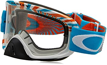 Oakley Lunettes De Soleil Canopy White Azure Orange, El. Adjustable