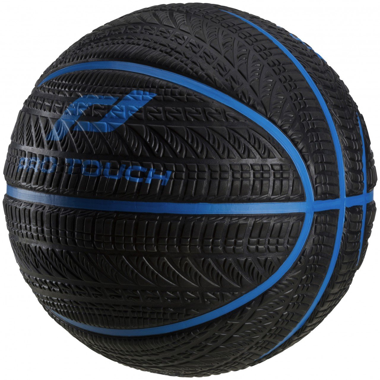 Pro Touch Bask-Ball Asfalt - schwarz/blau Schwarz/Orange 7 PRR8A|#Pro Touch 240334901007