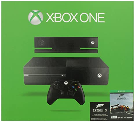 Amazon xbox one 500gb console with kinect and forza amazon xbox one 500gb console with kinect and forza motorsport 5 video games sciox Image collections