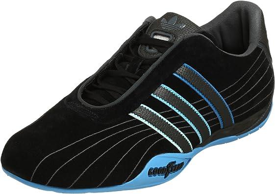 Carretilla raíz sensación  Amazon.com | adidas Originals Men's Goodyear Race Sneaker, Black/Pool/Dk  Shale, 8 M | Fashion Sneakers