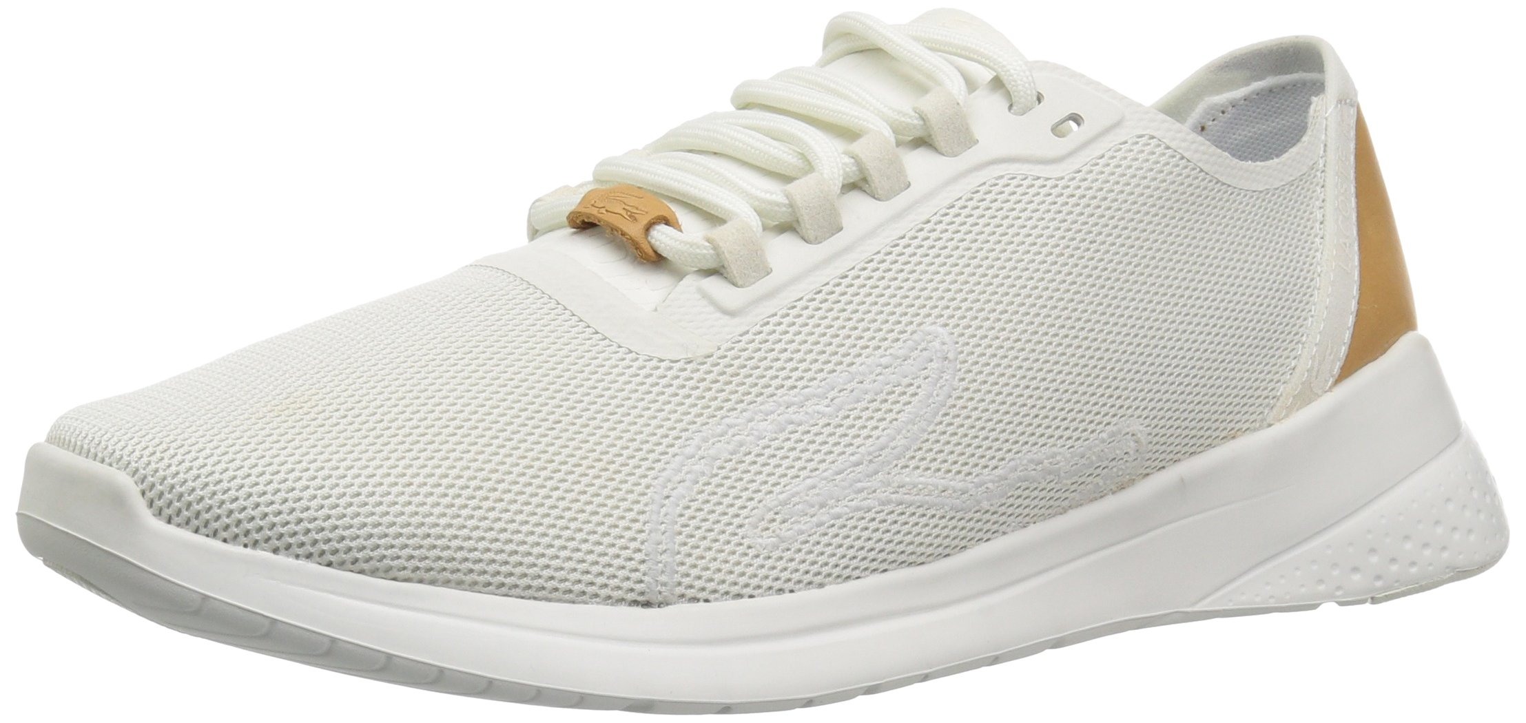 Lacoste Women's Lt Fit 118 2 Spw Sneaker, Off White/Off White, 8.5 M US