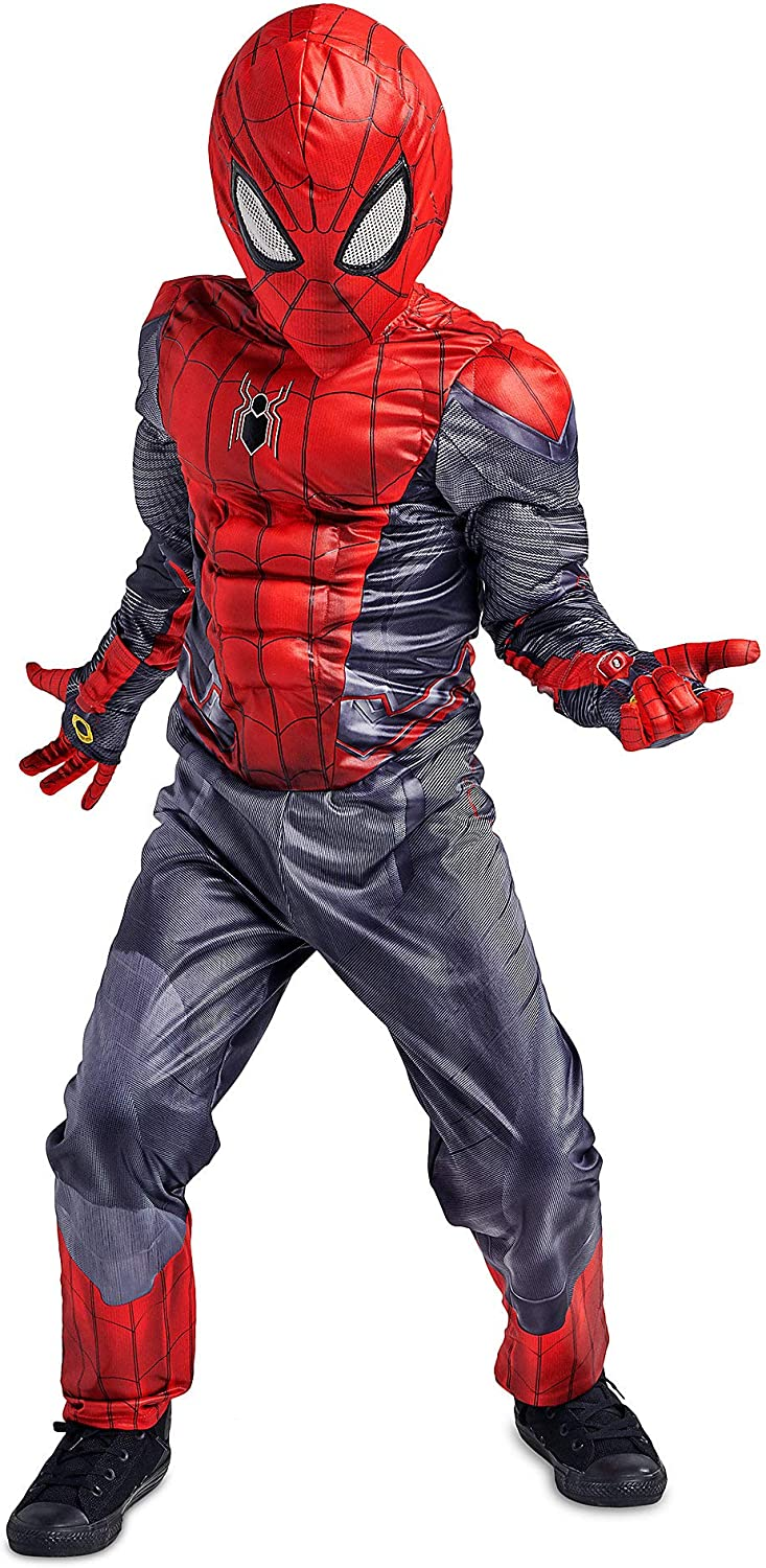 Marvel Spider-Man Costume Set for Kids - Spider-Man: Far from Home Size Multi